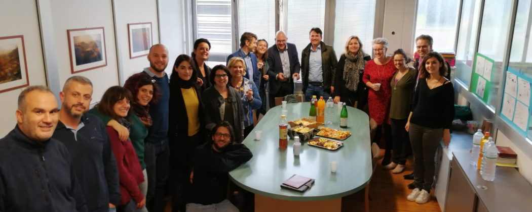 Dutch delegation visiting the social cooperatives of the region