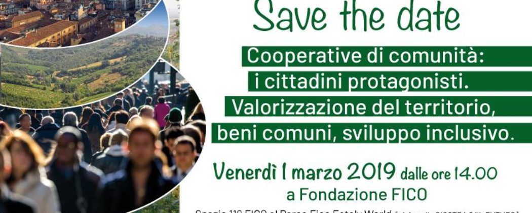 SAVE THE DATE: Valorizzazione del territorio, beni comuni, sviluppo inclusivo.