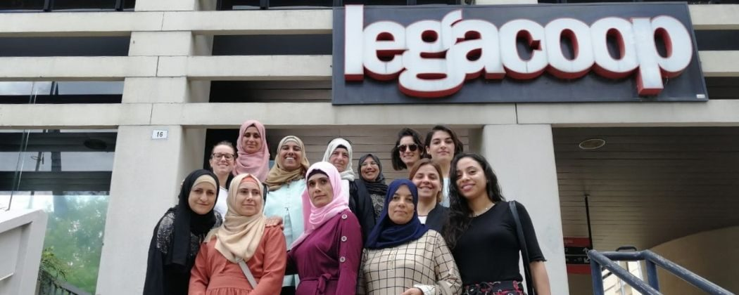 Cooperazione internazionale: donne palestinesi in visita a Legacoop Emilia-Romagna