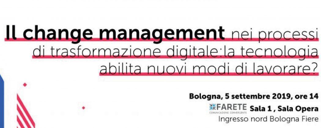 Change management, workshop gratuito a Farete