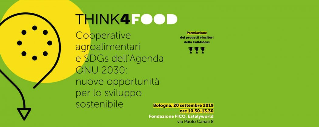 Premiazione Call for ideas Think4food