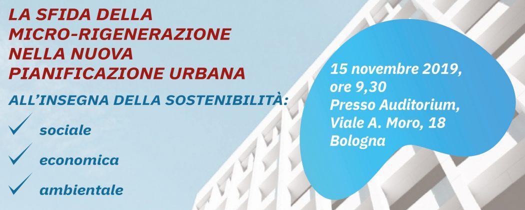 SALVA LA DATA: 15 novembre, Micro-rigenerazione urbana: convegno Legacoop Emilia-Romagna