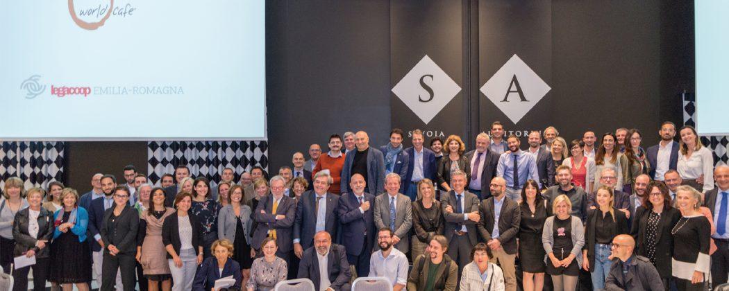 World Café: oltre 160 dirigenti cooperativi al lavoro per delineare nuove strategie