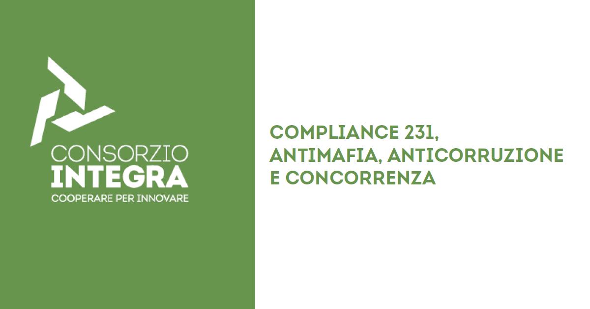 Compliance D.LGS. 231/2001 Antimafia Anticorruzione e Concorrenza