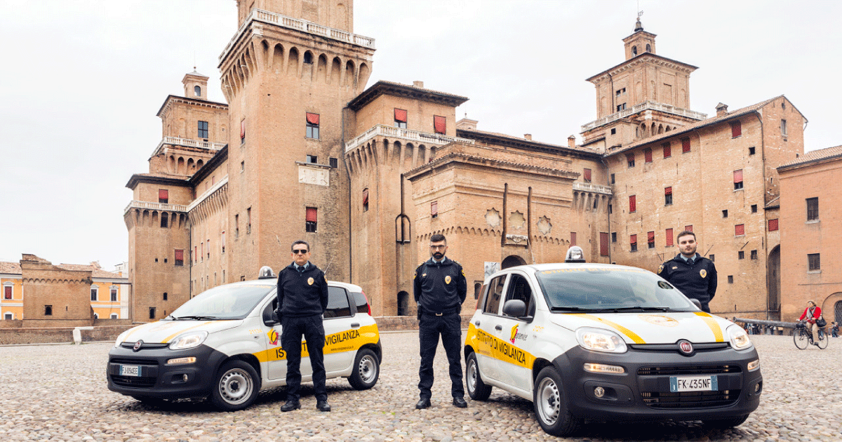 coopservice security service Ferrara