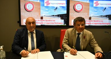 Accordo Legacoop Romagna Unibo
