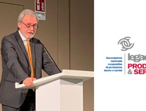 Alberto Armuzzi presidente legacoop produzione e servizi emilia-romagna