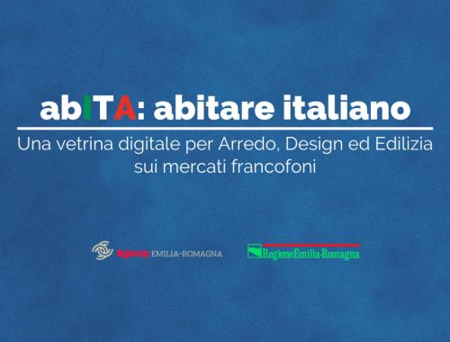 presentazione abita abitare italiano