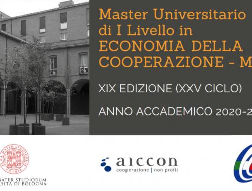 Master Universitario in Economia della Cooperazione