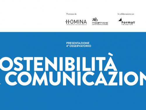 Osservatorio annuale Sostenibilità & Comunicazione