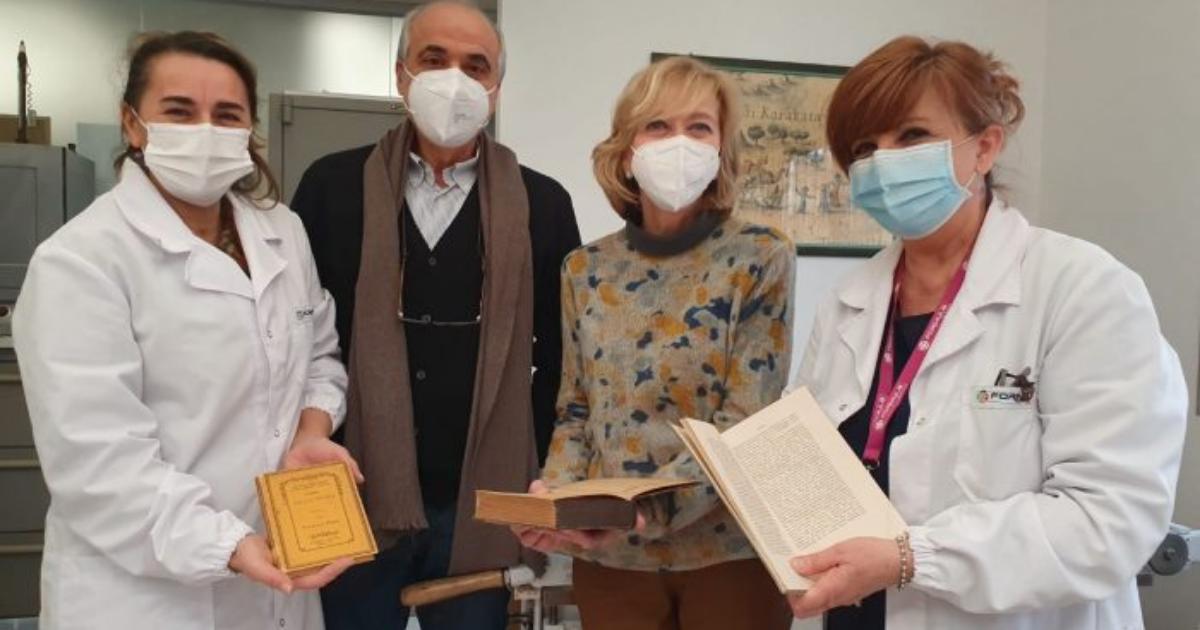 formula servizi restauro libri nonantola