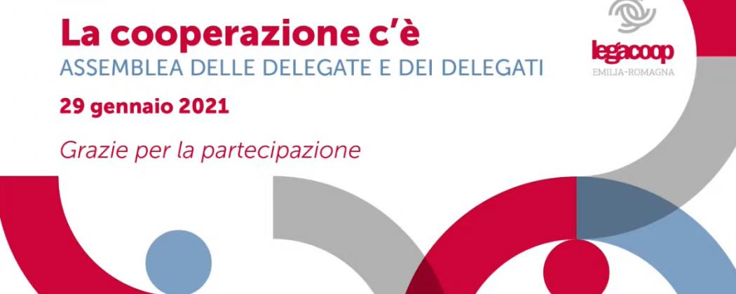 Scarica i materiali dell'Assemblea delle Delegate e dei Delegati Legacoop Emilia-Romagna – La Cooperazione c'è!
