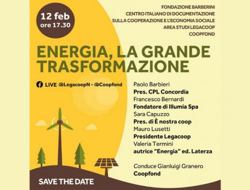 Energia La grande trasformazione