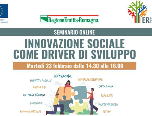 seminario Innovazione sociale come driver di sviluppo