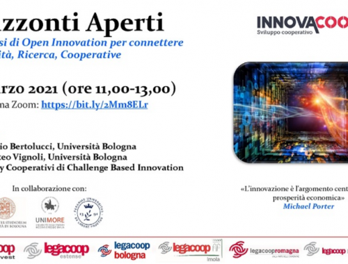 ORIZZONTI APERTI percorsi di Open Innovation