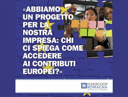 Fondi UE Federcoop Romagna