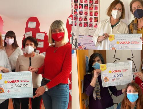 Donazione Conad per associazioni contro la violenza di genere