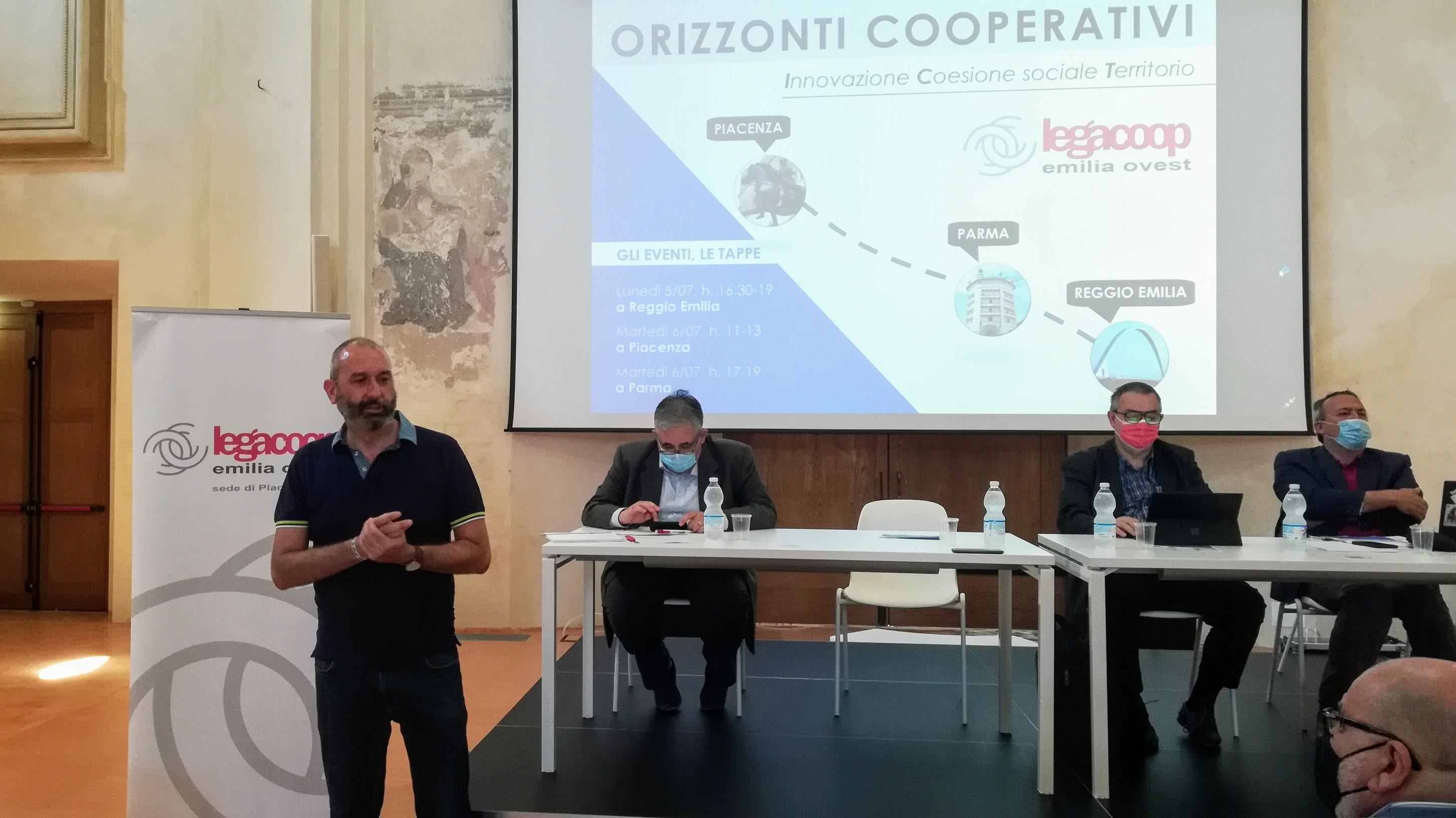 Orizzonti cooperativi innovazione coesione sociale territorio Un'iniziativa in tre tappe per confrontarsi sulle prossime sfide e proposte da costruire