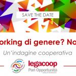 """""""Smart Working di genere? No, grazie!"""" Il 13 ottobre presentazione dell'indagine promossa dalla Commissione Pari Opportunità di Legacoop Emilia-Romagna"""